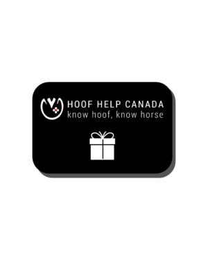 Hoof Help Canada Gift Card