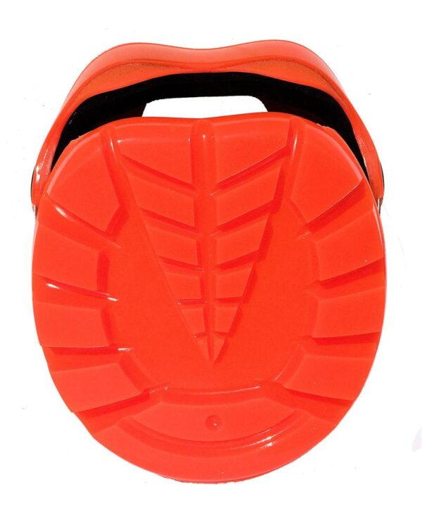 Orange Renegade Viper Hoof Boot View from the sole