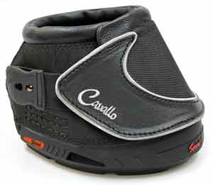 single cavallo sport boot with white background