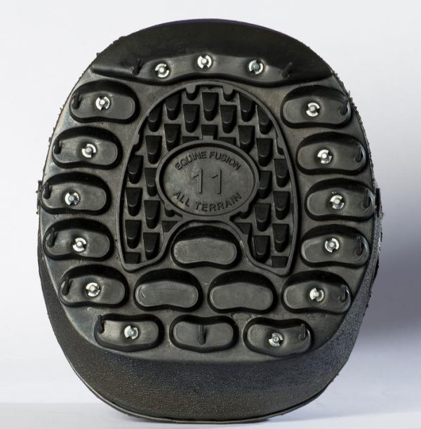 Equine Fusion Stud Kit shown on an All Terrain hoof boot